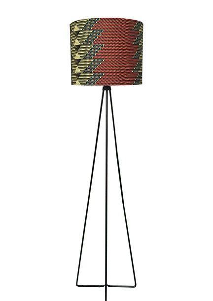 Image of Drum + Tripod Floor Lamp
