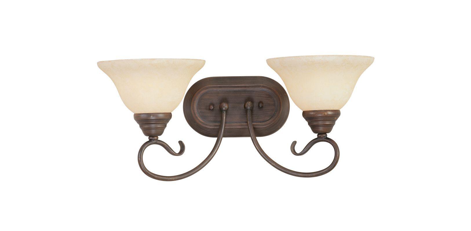 Photo of Livex Lighting 6102-58 Imperial Bronze Coronado 2 Licht Badezimmer Vanity Light