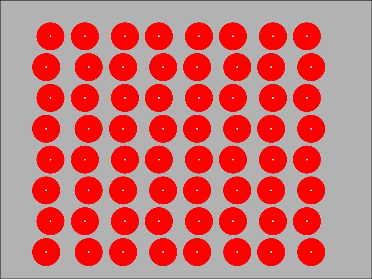 Photos illusion car moving optical illusion spectacular optical - Dot Illusions