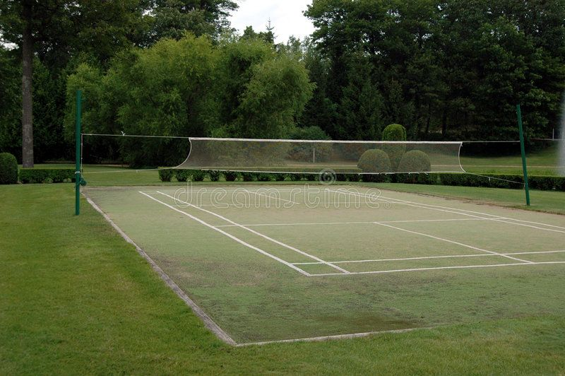 Badminton Court A Grass Badminton Court Ad Court Badminton Badminton Grass Ad Badminton Court Badminton Outdoor