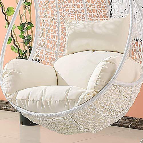 Incredible Msm Waterproof Swing Cushion Hanging Egg Rattan Chair Ibusinesslaw Wood Chair Design Ideas Ibusinesslaworg