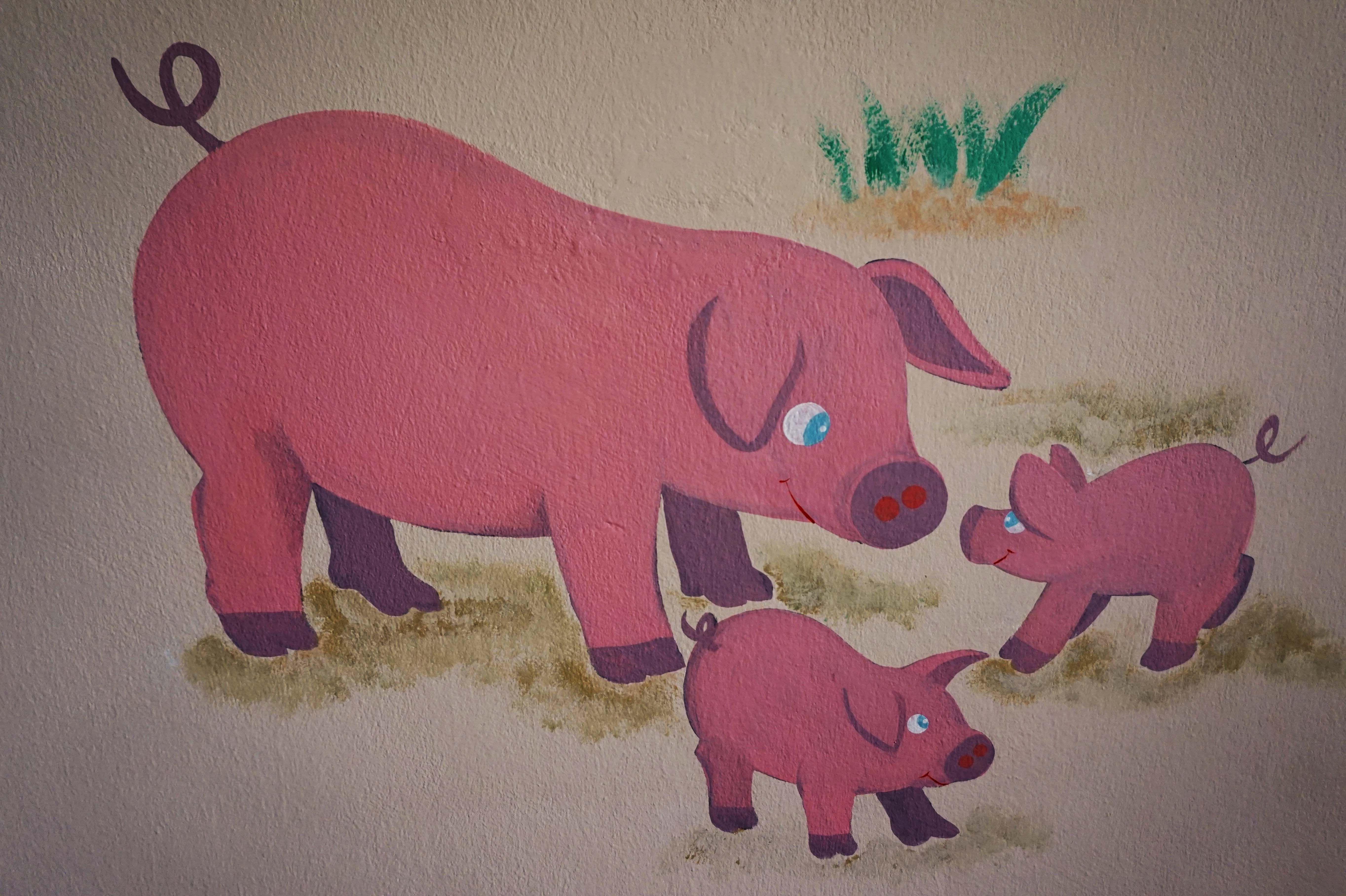 Pin von KinderzimmerMalerei auf Wandmalerei_München