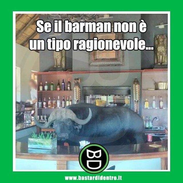 #bastardidentro #barman #bar #ipnoticamentebastardidentro www.bastardidentro.it