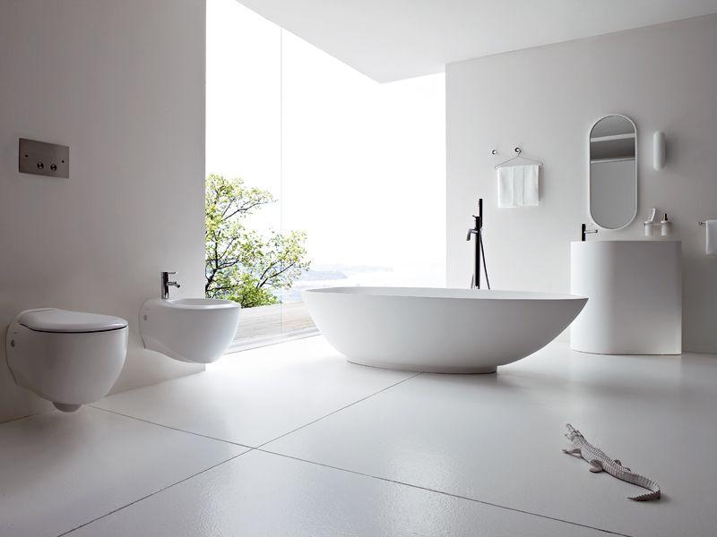 BOMA in white - freestanding bathtub by Rexa Design http ... on Modern Boma Ideas id=50733