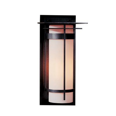 Hubbardton Forge Banded Outdoor Flush Mount Finish