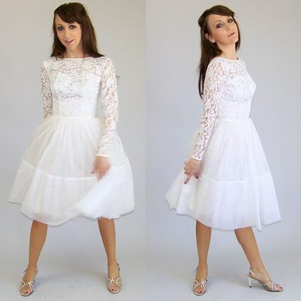 1000  images about Wedding Dresses on Pinterest  Vintage inspired ...