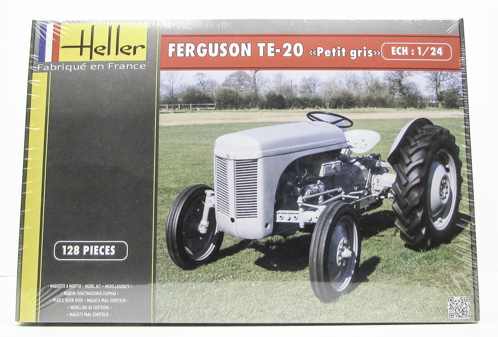 Heller 81401 Ferguson TE-20 Farm Tractor 1/24 New Plastic