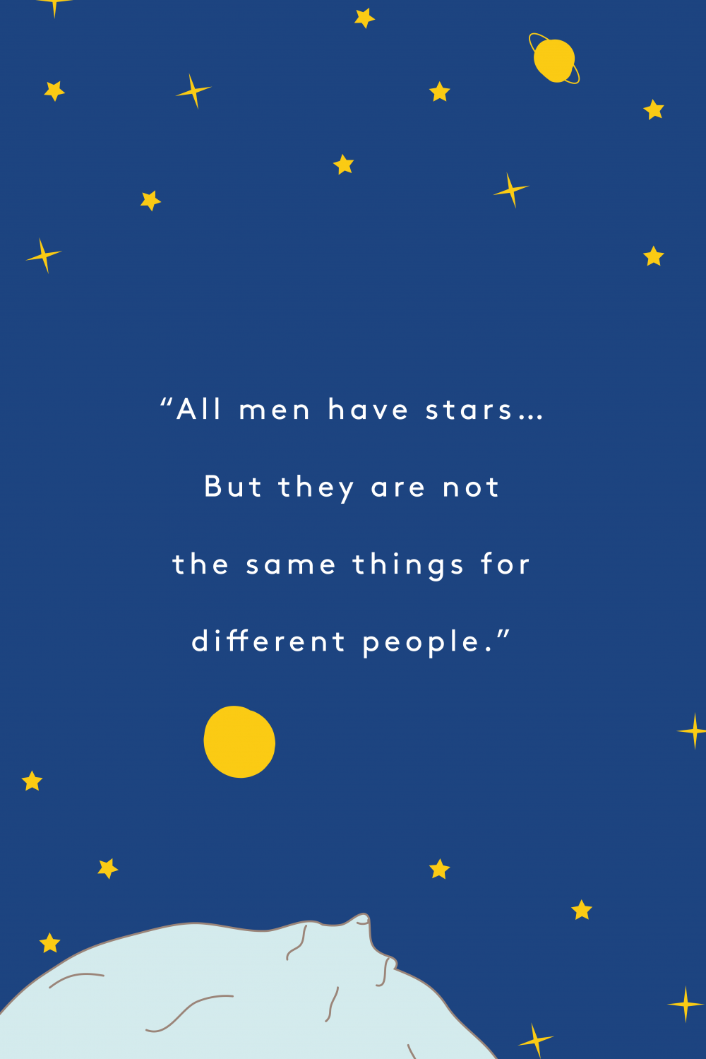 """Items Similar To The Little Prince Quote Inspirational: These Are Our Very Favorite Quotes From """"The Little Prince"""