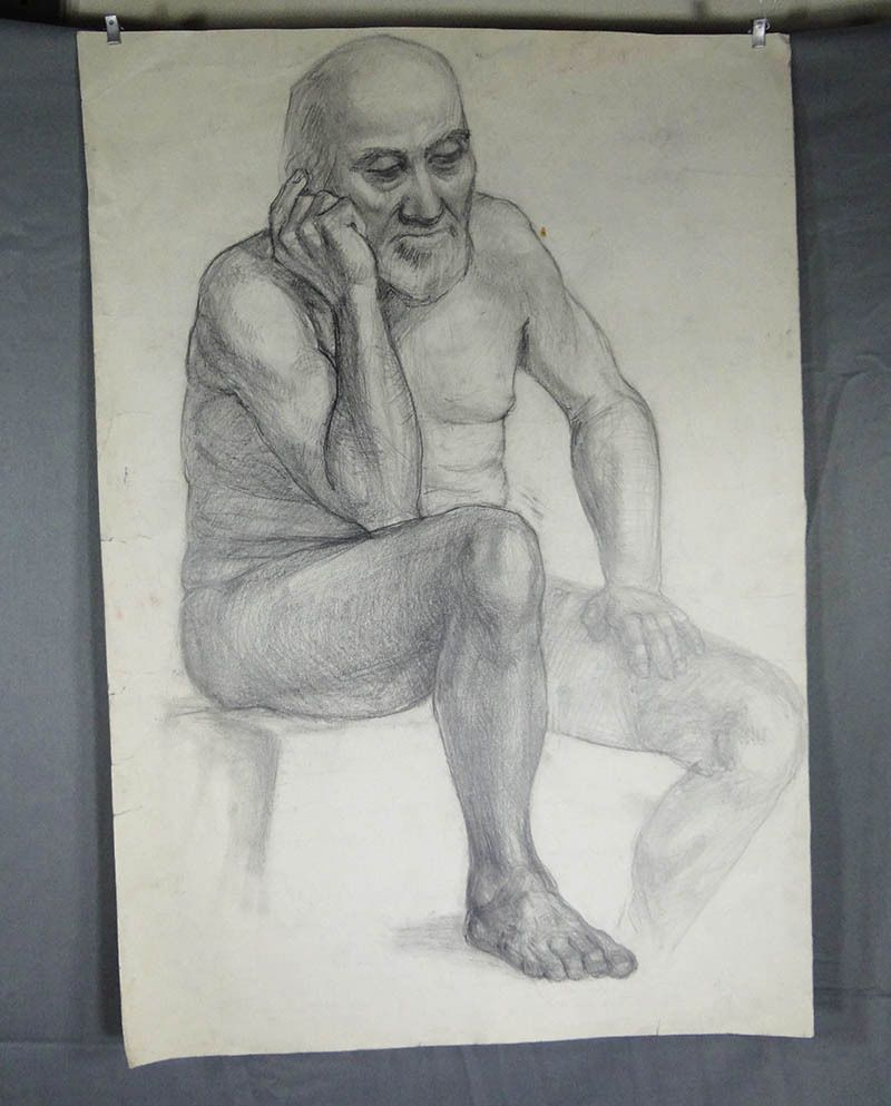 Happens. naked old man sitting consider, that