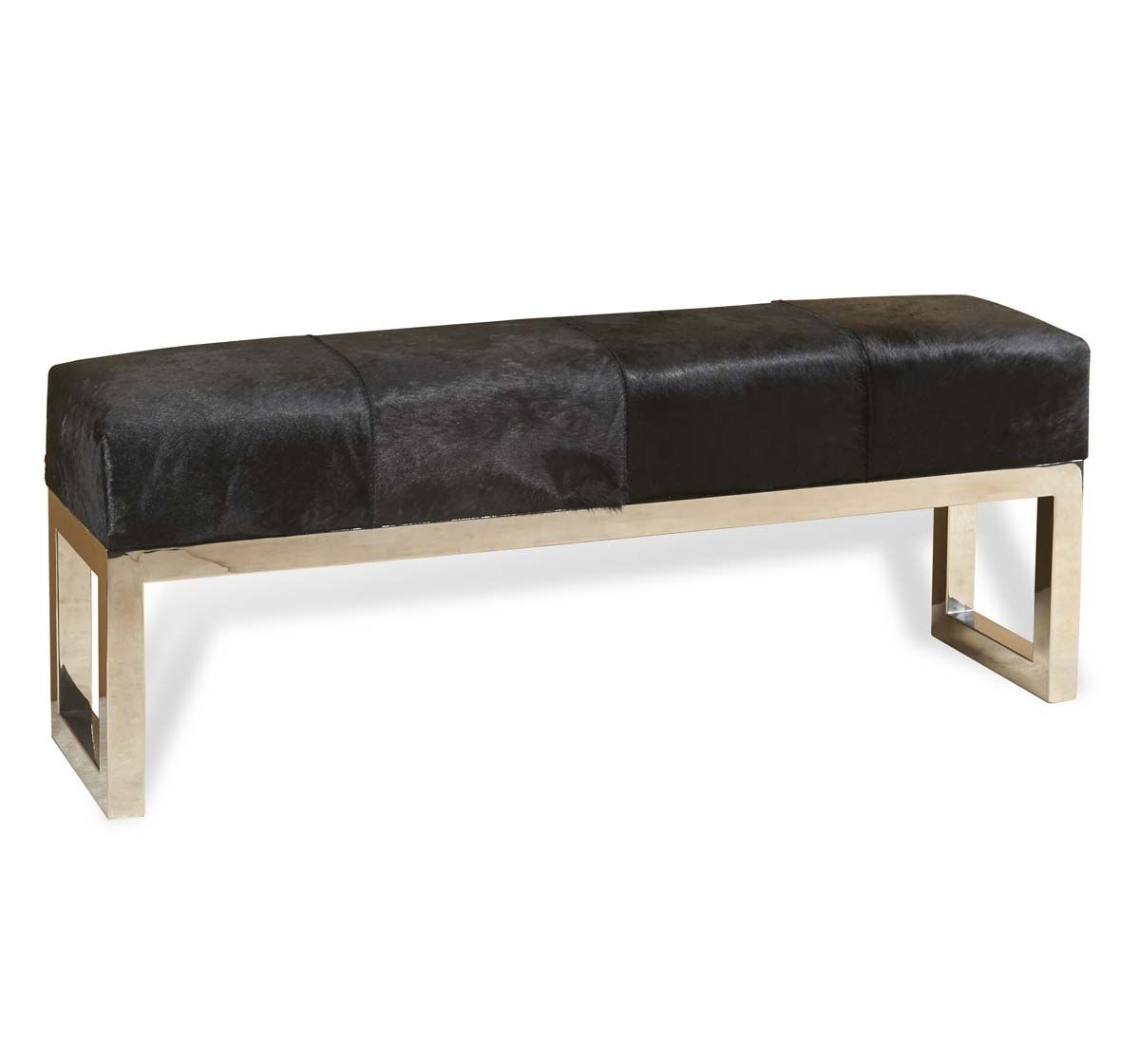 Cow Skin Bench Buscar Con Google Cowhide Bench Steel Bench