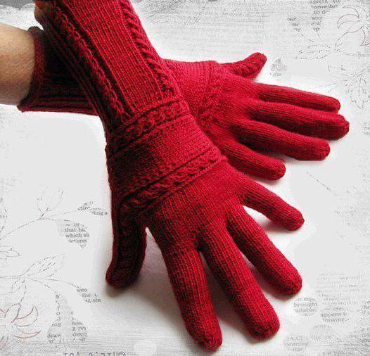 вязаные детские перчатки своими руками митенки перчатки варежки