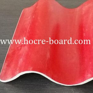 New Non Asbestos Chinese Roof Tiles Insulate Mgo Roof Tile Waterproofing Cheap Roof Tiles