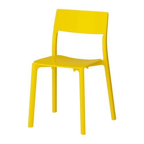 JANINGE Chair, yellow | Ikea, Sedie e Interni