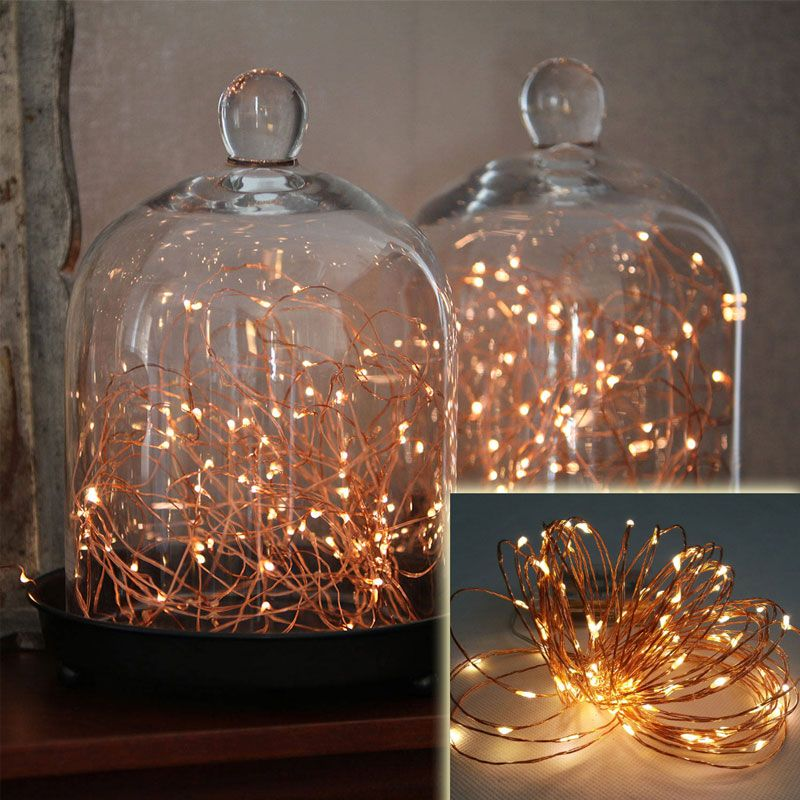 13 Deals Wireless 9 Foot Waterproof Micro Led String Lights With Timer In Warm White Copper Or Silver Wire One Set For 10 Two 18 Ships Free