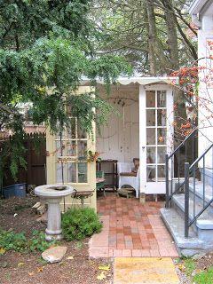 Little Clay Heads Sandy Mastroni Halloween Outdoor Reading Nooks Garden Architecture Garden Doors