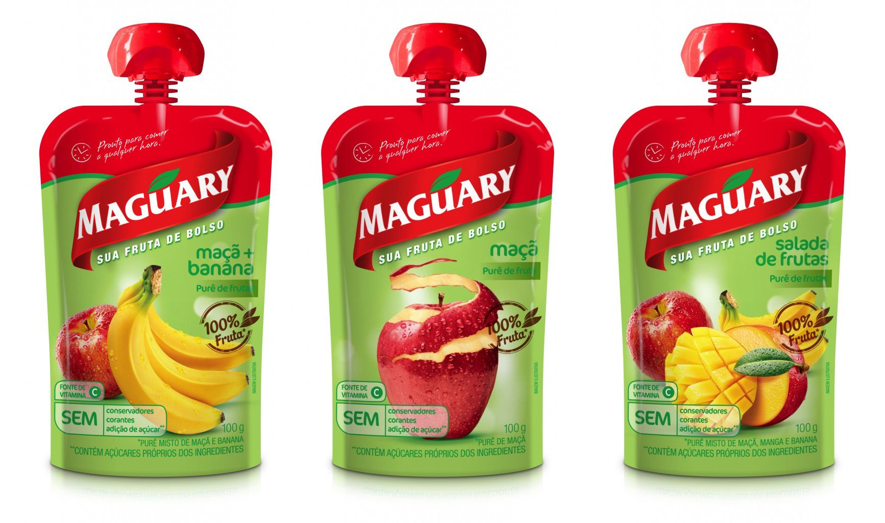 Maguary Pure De Frutas Food Packaging Baby Food Recipes Kids