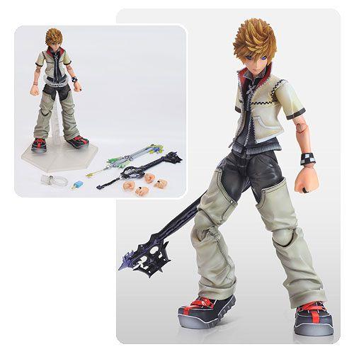 Kingdom Hearts 2 Roxas Play Arts Kai Action Figure | the stuffs I ...
