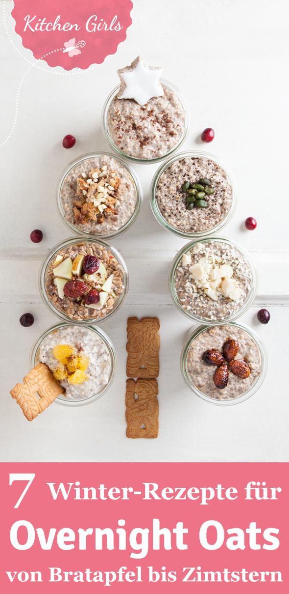 Overnight Oats für den Winter Gesundes Frühstück über Nacht: Wir zeigen euch 7 Rezepte für Overnight Oats mit Lebkuchen, Spekulatius & Co.!Gesundes Frühstück über Nacht: Wir zeigen euch 7 Rezepte für Overnight Oats mit Lebkuchen, Spekulatius & Co.!
