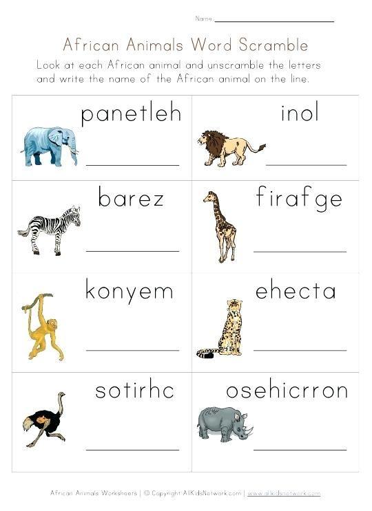 Картинки по запросу worksheet type of animals   Обучение ...