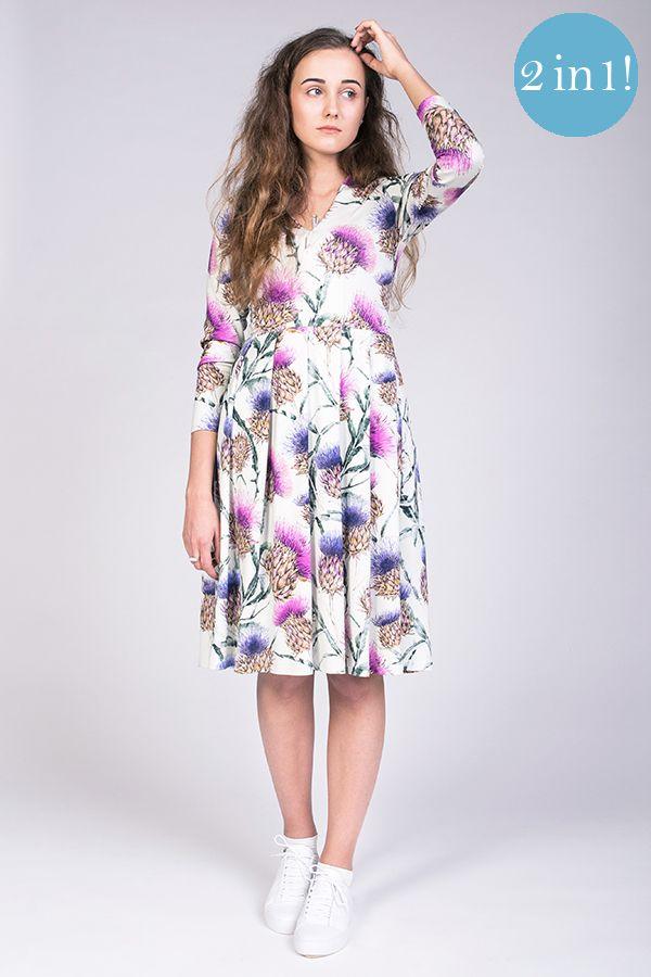 Tuuli V-neck Jersey Dress - Named