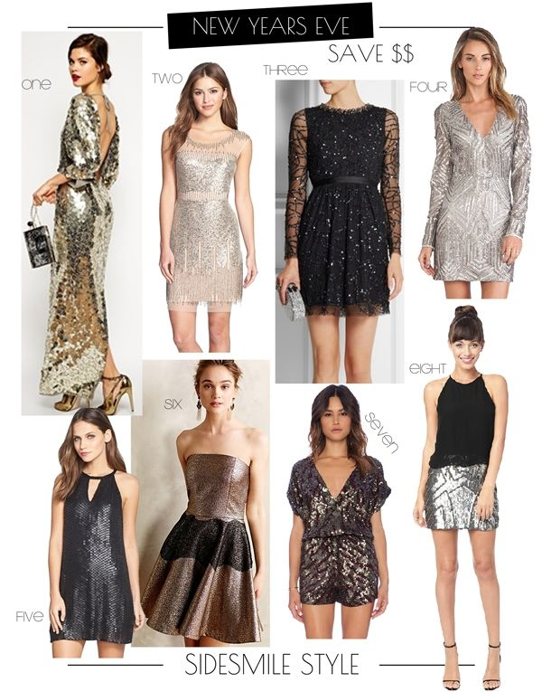 Sidesmile Style New Years Eve Dress Guide New Years Eve Dresses Dresses Eve Dresses