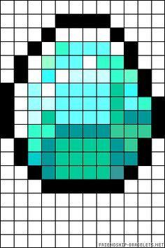 Diamante Plantilla Con Imagenes Manualidades De Minecraft