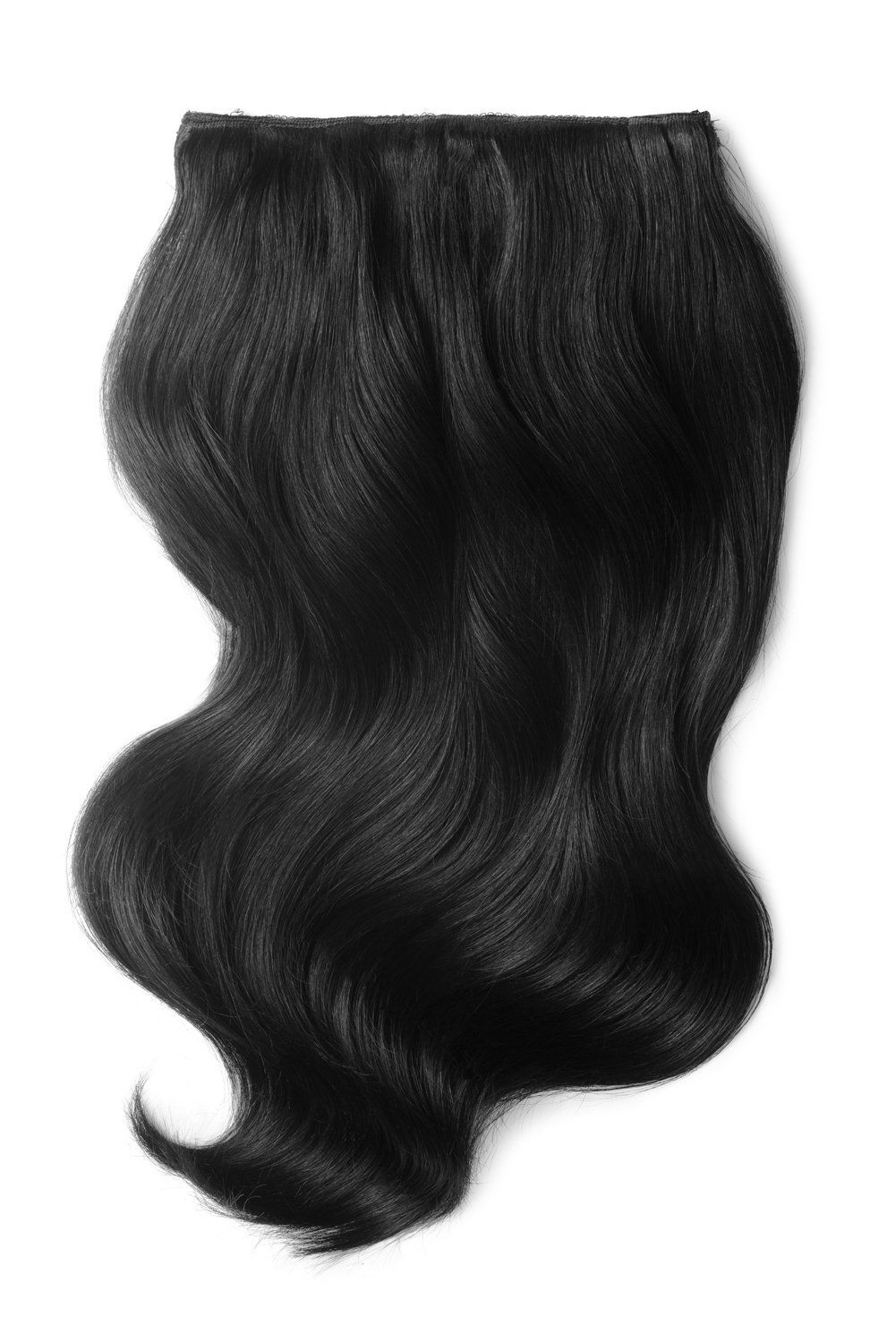 Double Wefted Full Head Remy Clip in Human Hair Extensions