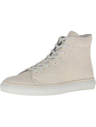 FRYE Men's Gates High Fashion Sneaker, Off White, 13 D US ❤ FRYE