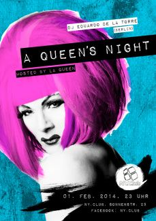 La Queen for NY Club, A Queen's Night
