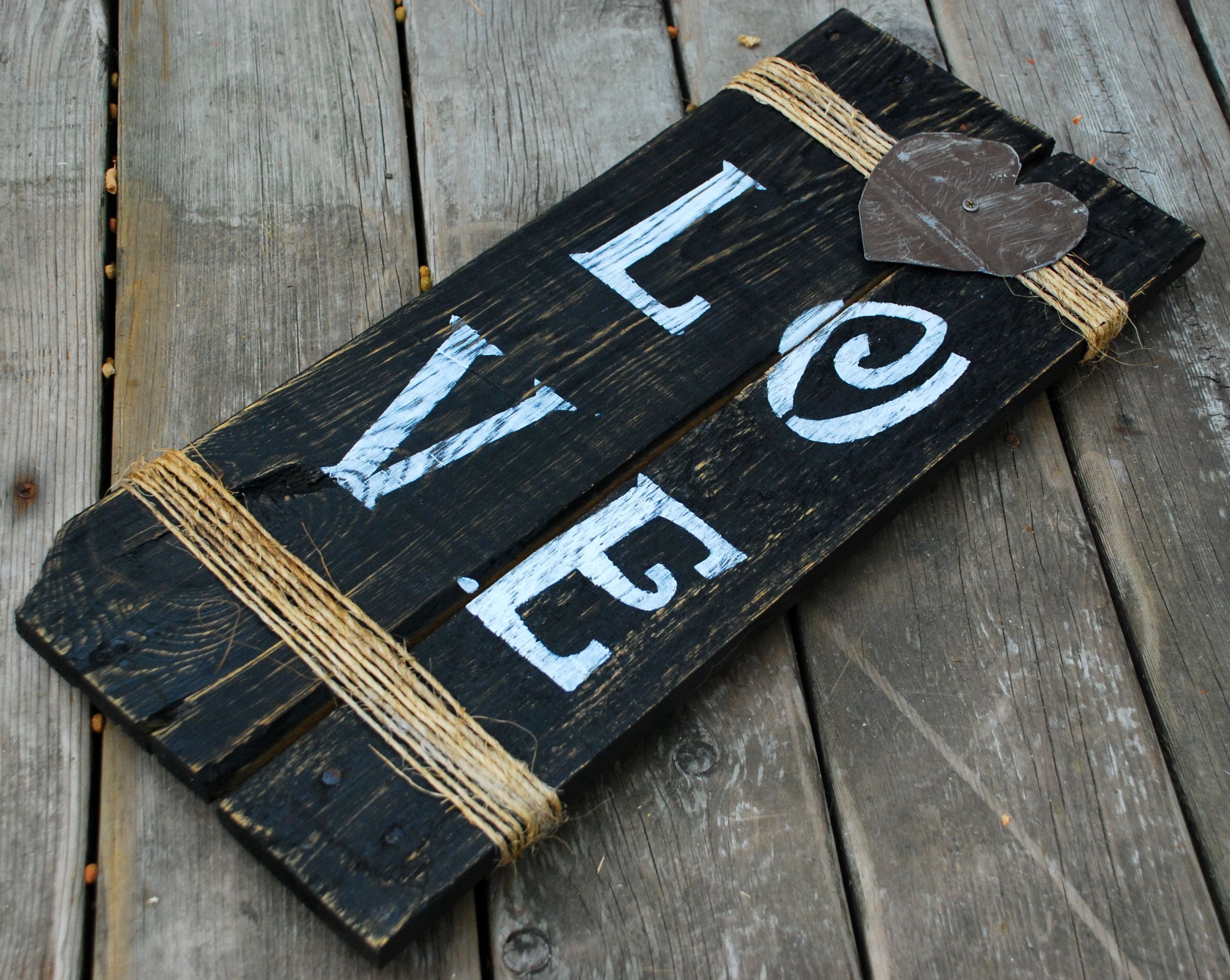 hand painted barn wood signs super cute hope my crafty
