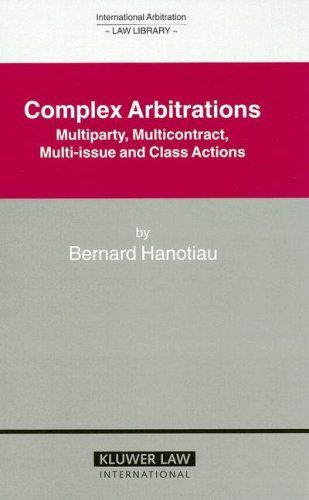 Complex Arbitrations Multiparty Mulicontract MultiIssue And