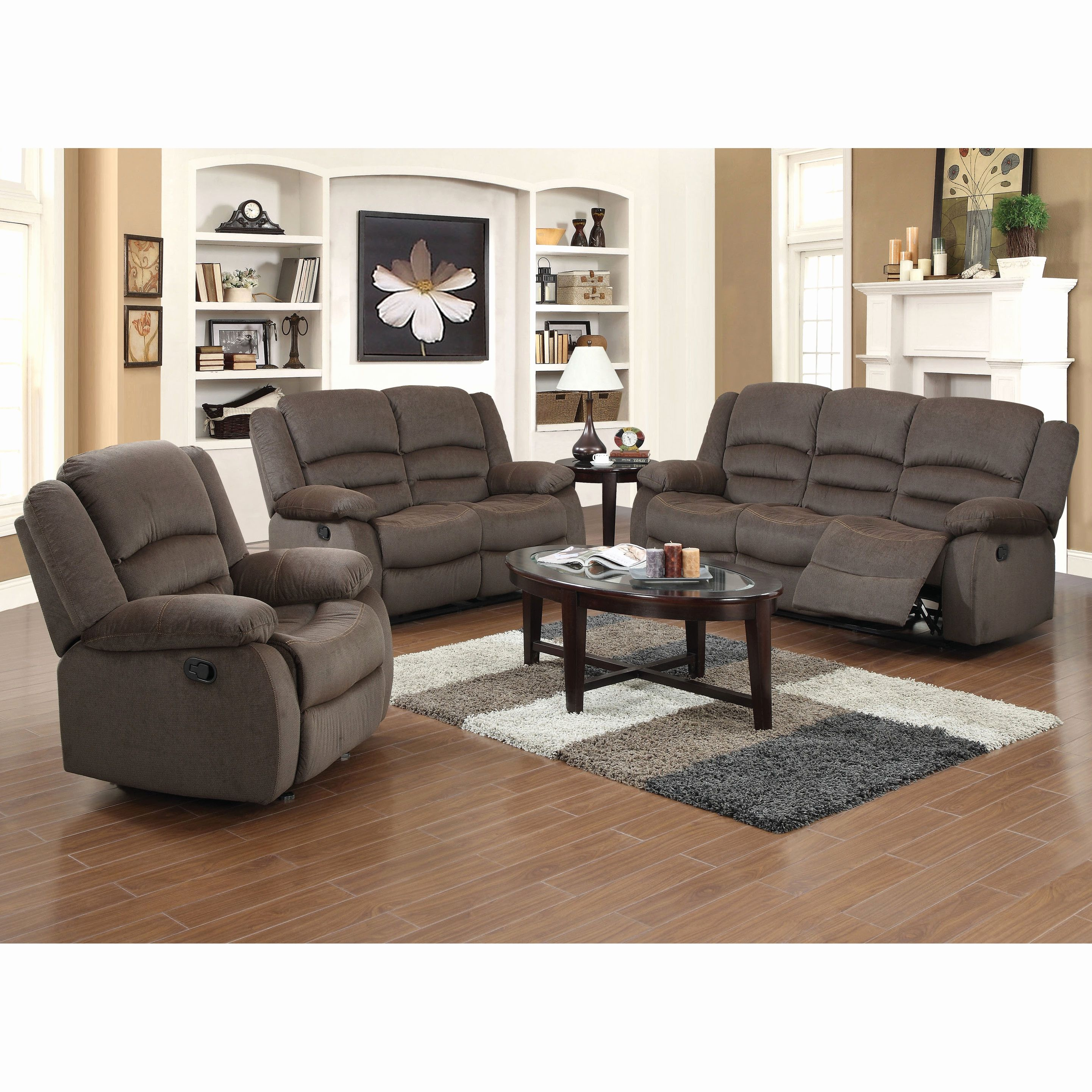 Awesome Microfiber Sofa Sets Furniture White Microfiber Sofa 3 Piece