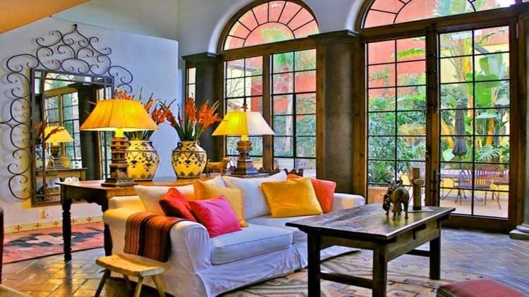 mexican living room decorating ideas  spanish living room