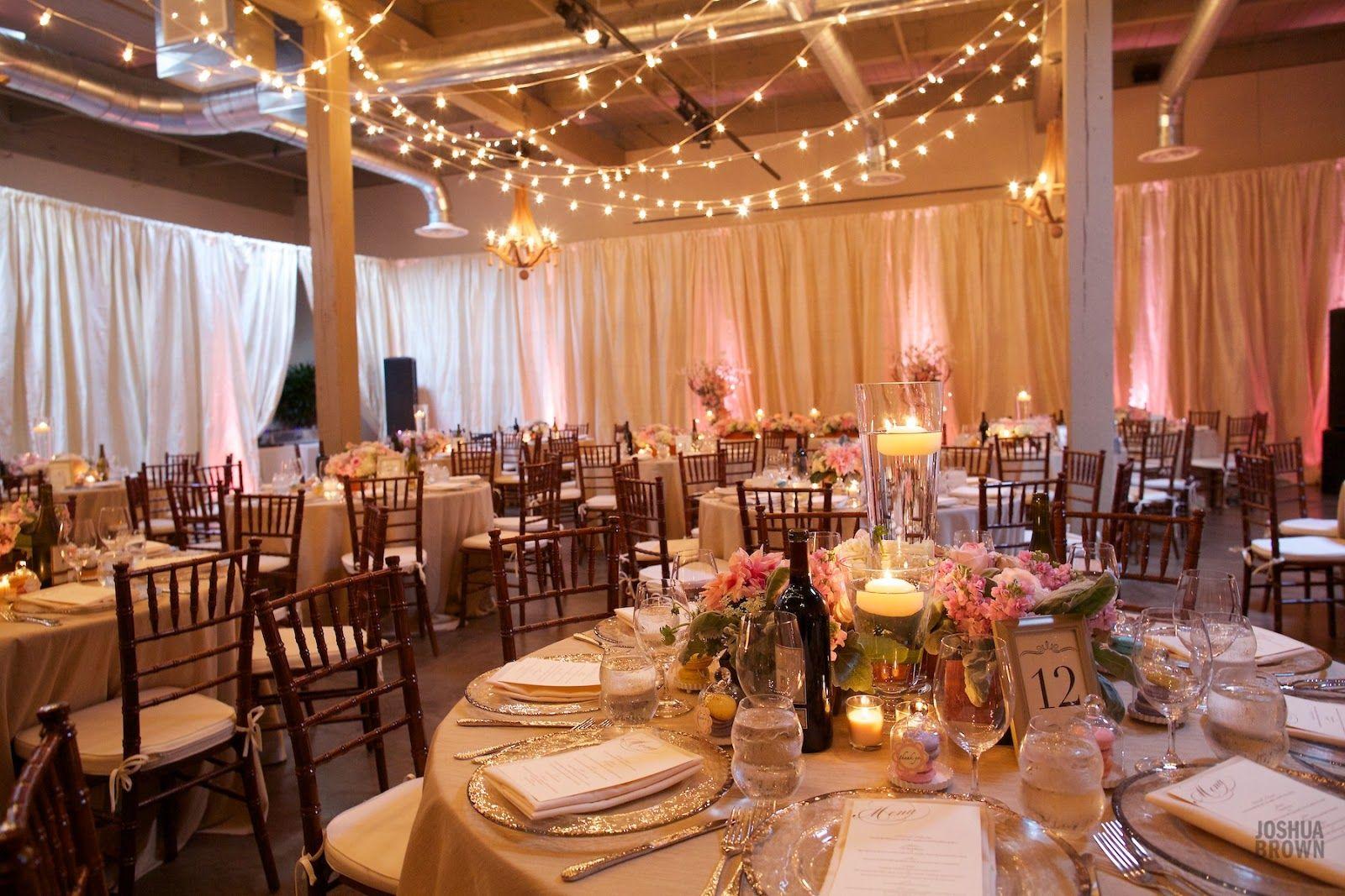 Wedding Reception In Blush