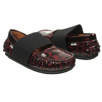 Venettini Lily Tod/Pre/Grd Shoes (Bordo Leopard) - Kids' Shoes - 24.0 M