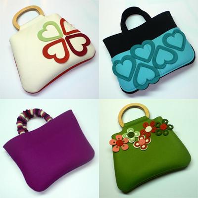 muchos de moda comprar Tienda online Mamás creativas: FIELTRO | dys | Bolsas de fieltro, Bolsos ...