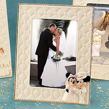 8bbae82609ab Disney Lenox Mickey   Minnie Happily Ever After Wedding Frame  113 ...