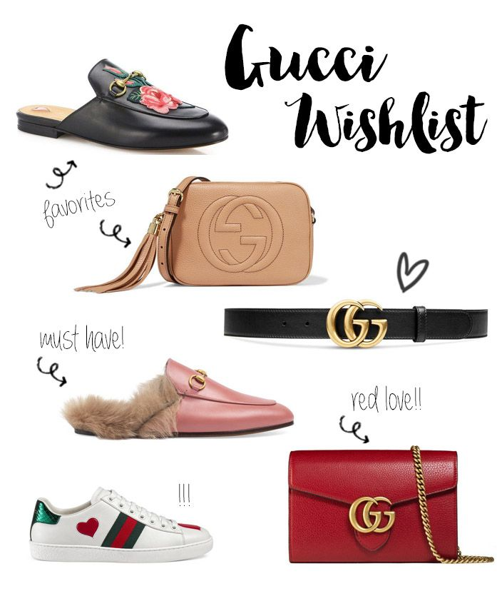 bf81a9f1c Gucci Wishlist   Princetown Slipper   Disco Bag Soho   GG Marmont   Sneaker    Fashionnes