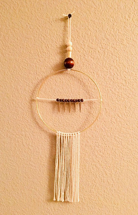 Beady Mid Century Modern Tassel Dreamcatcher Wall Decor | Cotton ...