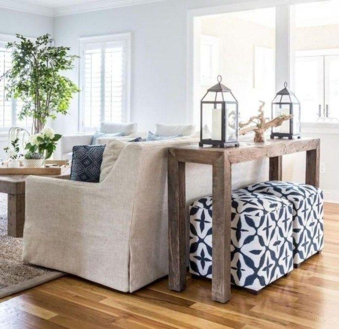 50 Stunning Coastal Living Room Decoration Ideas - HOMYHOMEE #coastallivingrooms