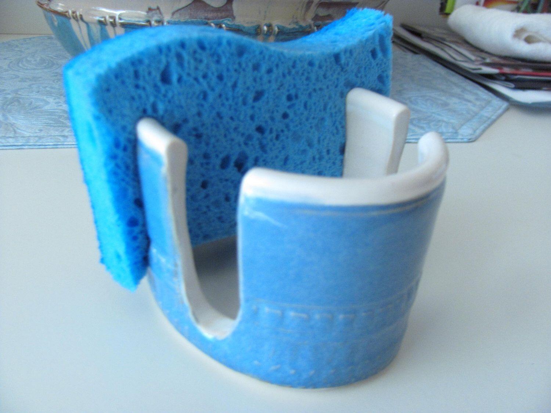 Sponge Holder, Cell Phone Holder Ceramic Pottery Home Decor Pottery ...