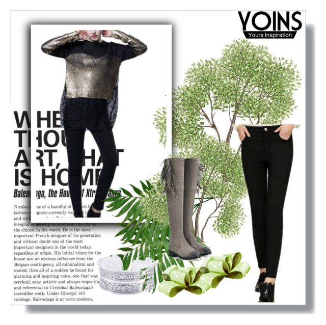 """""""YOINS 14"""" by ajdin-lejla ❤ liked on Polyvore featuring women's clothing, women's fashion, women, female, woman, misses, juniors, polyvoreeditorial and yoins"""