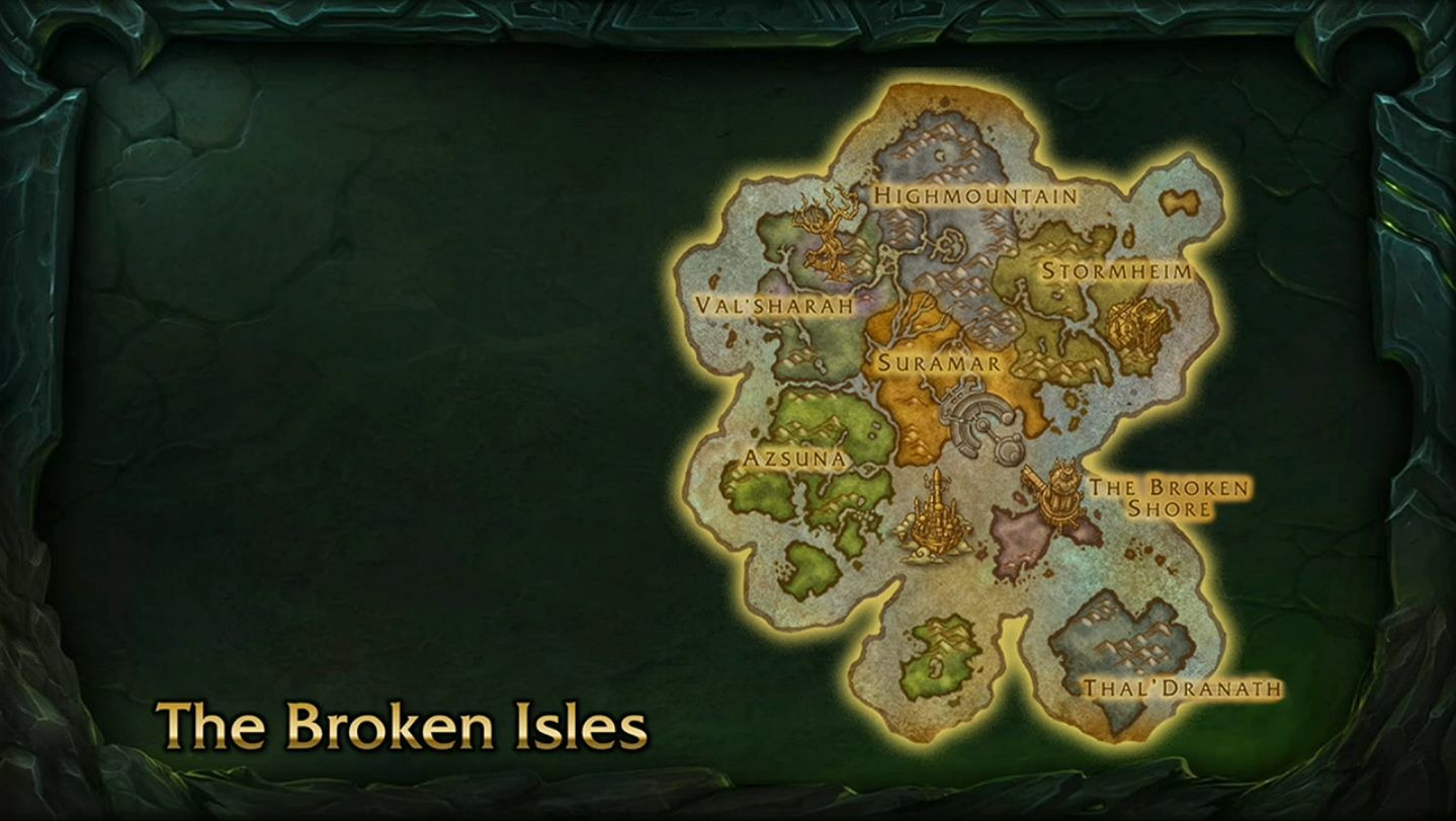 Mmo champion world of warcraft legion world and content the broken isles are a brand new continent being opened in world of warcraft legion a group of islands located in the south seas including the tomb of gumiabroncs Image collections