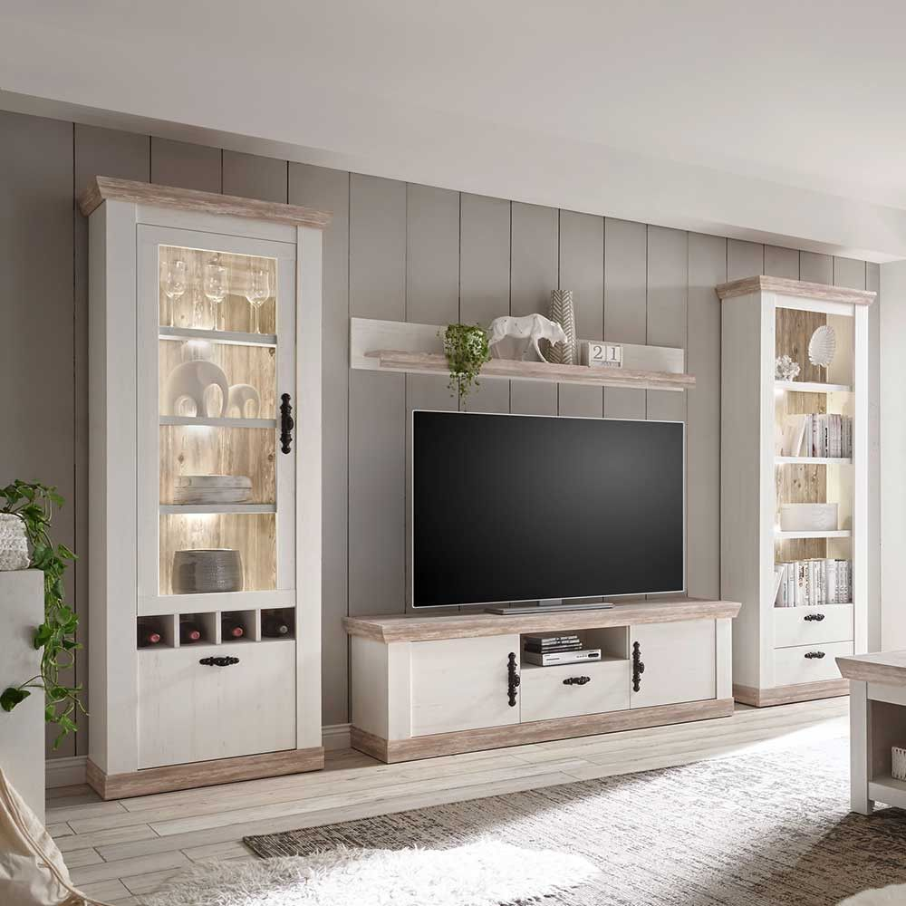 72 Großartig Landhaus Wohnwand Tv Unit Decor Wall Unit Country Style Homes