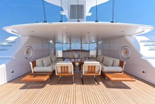 superyacht kahalani deck möbel   tenders, m/y, s/y and catamaran, Innenarchitektur ideen