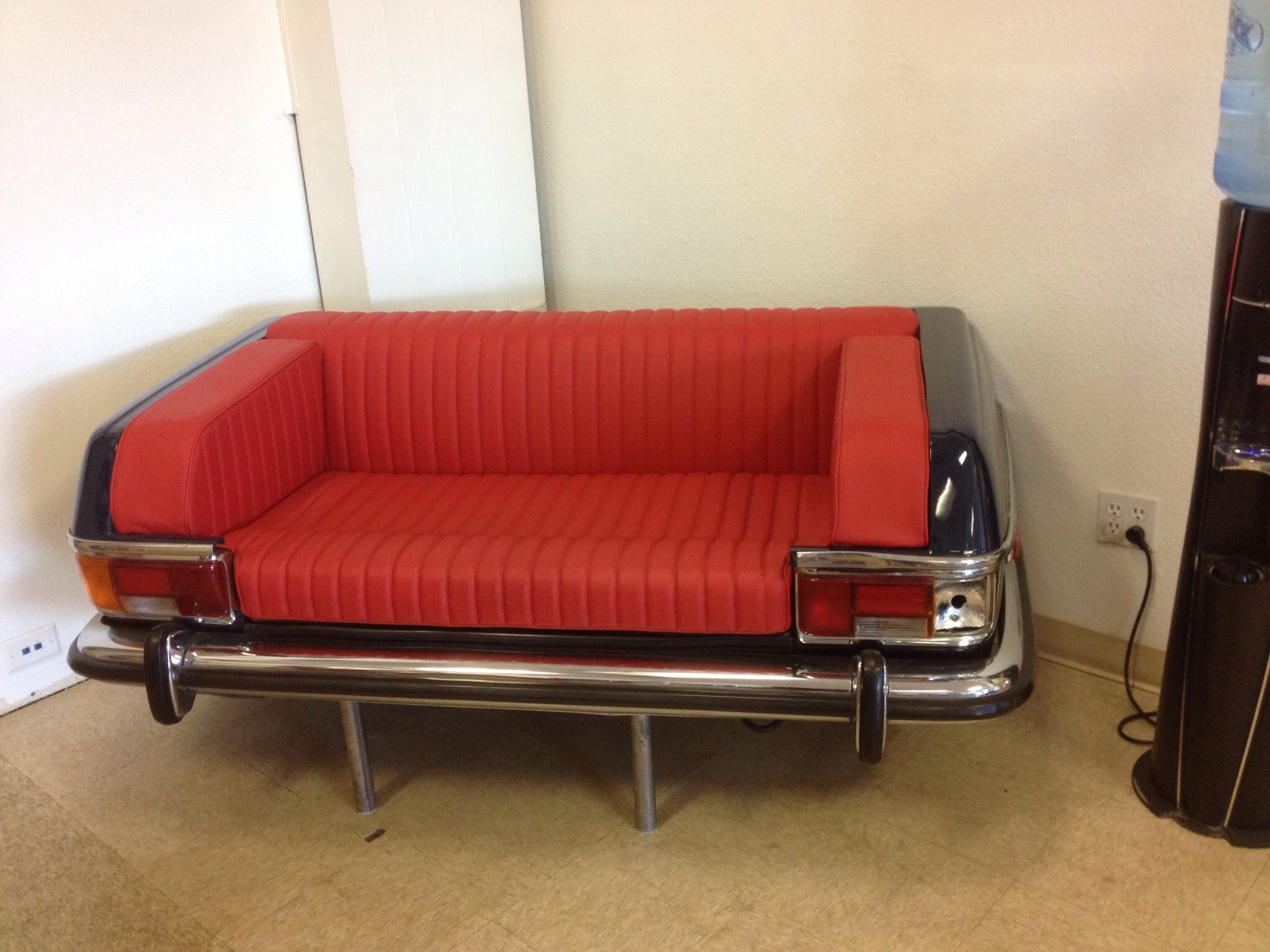 Mercedes couch Man Cave Pinterest