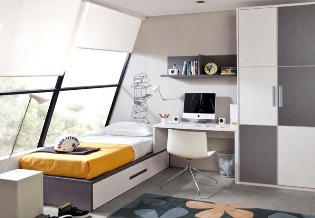 100 jugendzimmer-einrichtungsideen für individuelle wohnwelten, Schlafzimmer
