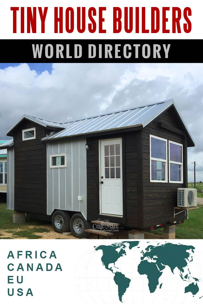 Tiny House Builders Directory in 2019 | Tiny houses: design, floor