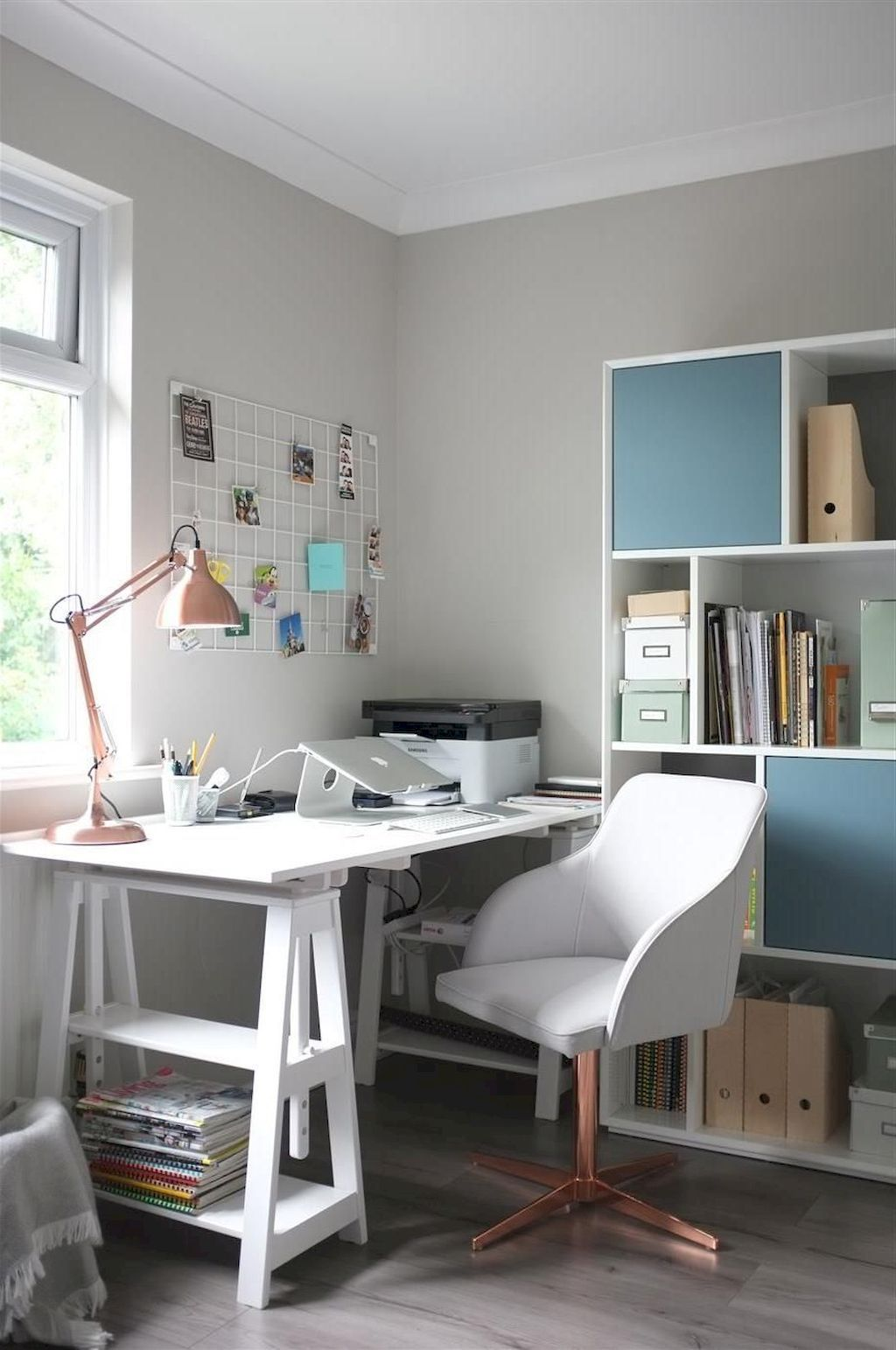 Adorning A Examine Room In Your Dwelling | Minimalist home ...