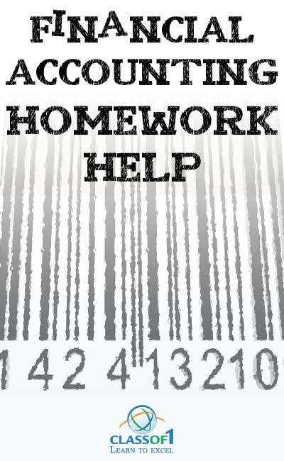 Free accounting homework help